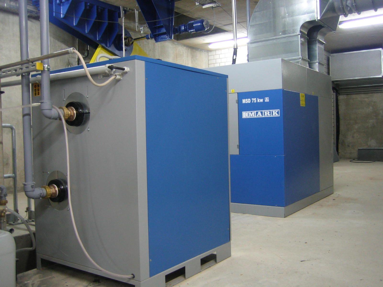 Kompressoren und Druckluftaufbereitungssysteme